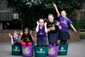 Getting kids growing with Growise and Incredible Edibles