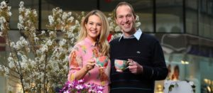 Aoibhin Garrihy and the Irish Gardener Peter Dowdall at #LoveyourGarden Launch