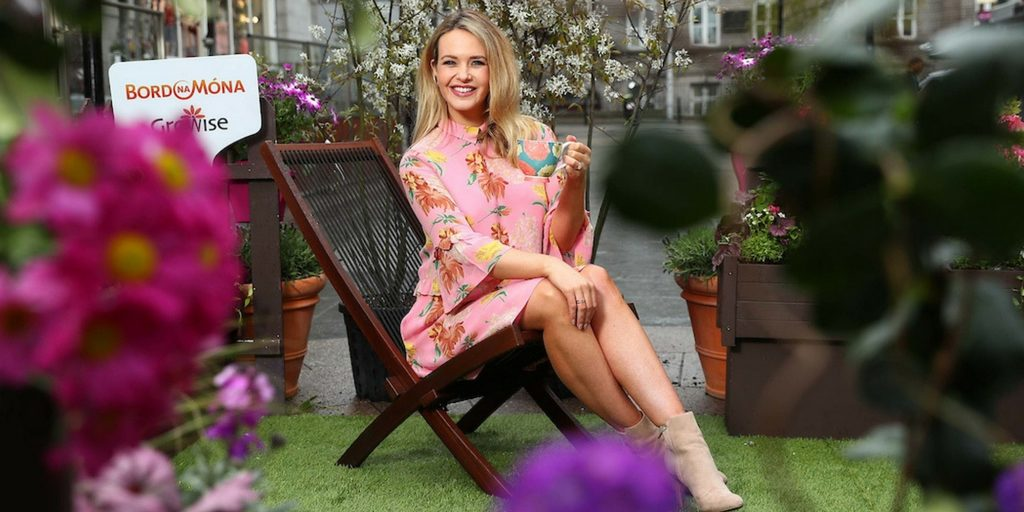 Aoibhin Garrihy at #LoveyourGarden Launch